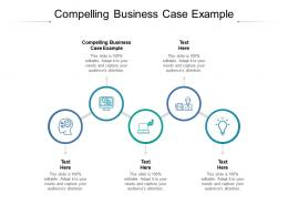 Compelling Business Case Example Ppt Powerpoint Presentation Infographics Slide Portrait Cpb
