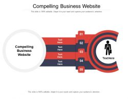 Compelling Business Website Ppt Powerpoint Presentation Icon Background Images Cpb