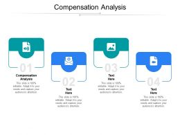Compensation Analysis Ppt Powerpoint Presentation Inspiration Background Images Cpb