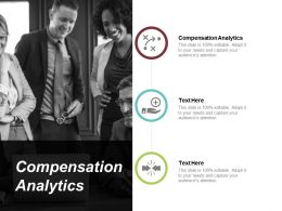 Compensation Analytics Ppt Powerpoint Presentation Gallery Icon Cpb