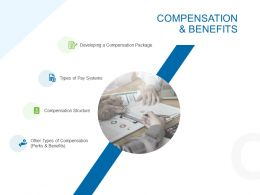Compensation And Benefits Ppt Powerpoint Presentation Slides