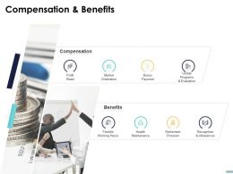 Compensation And Benefits Ppt Powerpoint Presentation Styles Information