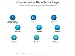 Compensation Benefits Package Ppt Powerpoint Presentation Infographics Ideas Cpb