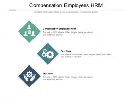 Compensation Employees HRM Ppt Powerpoint Presentation Infographic Template Introduction Cpb