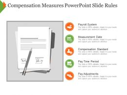 Compensation Measures Powerpoint Slide Rules