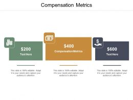 Compensation Metrics Ppt Powerpoint Presentation Layouts Layout Cpb