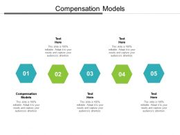 Compensation Models Ppt Powerpoint Presentation Example Cpb