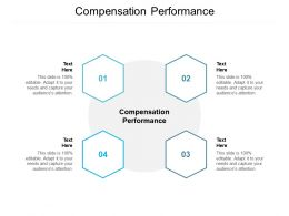 Compensation Performance Ppt Powerpoint Presentation Professional Slides Cpb