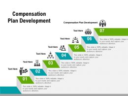 Compensation Plan Development Ppt Powerpoint Presentation Ideas Graphics Pictures Cpb
