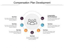 Compensation Plan Development Ppt Powerpoint Presentation Professional Background Designs Cpb