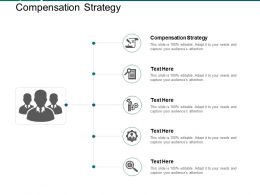 Compensation Strategy Ppt Powerpoint Presentation Pictures Grid Cpb