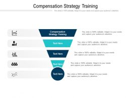 Compensation Strategy Training Ppt Powerpoint Presentation Styles Topics Cpb