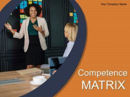 Competence Matrix Powerpoint Presentation Slides