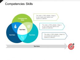 Competencies Skills Ppt Powerpoint Presentation Infographic Template Example File Cpb