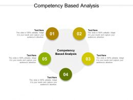 Competency Based Analysis Ppt Powerpoint Presentation Inspiration Slide Portrait Cpb
