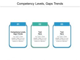 Competency Levels Gaps Trends Ppt Powerpoint Presentation Infographic Template Cpb