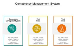 Competency Management System Ppt Powerpoint Presentation Example File Cpb