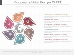 Competency Matrix Example Of Ppt