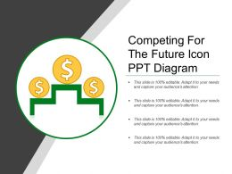 Competing For The Future Icon Ppt Diagram