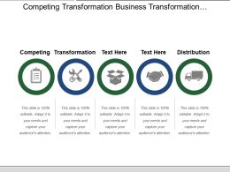 Competing Transformation Business Transformation Innovative Business Model Project Champion
