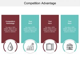 Competition Advantage Ppt Powerpoint Presentation Layouts Infographics Cpb