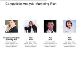 Competition Analysis Marketing Plan Ppt Powerpoint Presentation Gallery Microsoft Cpb