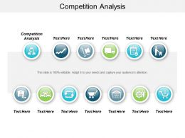 Competition Analysis Ppt Powerpoint Presentation File Inspiration Cpb