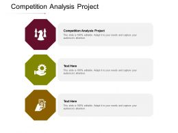 Competition Analysis Project Ppt Powerpoint Presentation Infographics Graphics Cpb