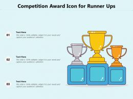 Competition Award Icon For Runner Ups