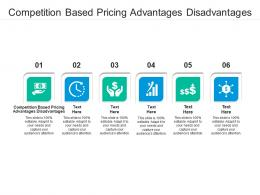 Competition Based Pricing Advantages Disadvantages Ppt Powerpoint Presentation Styles Graphics Download Cpb