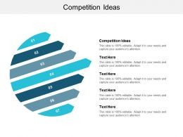 Competition Ideas Ppt Powerpoint Presentation Show Layout Cpb
