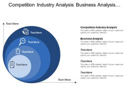 Competition Industry Analysis Business Analysis Traffic Analysis
