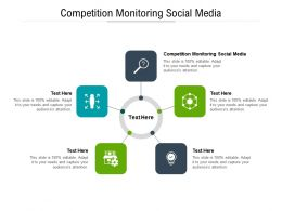 Competition Monitoring Social Media Ppt Powerpoint Presentation Portfolio Clipart Images Cpb