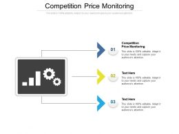Competition Price Monitoring Ppt Powerpoint Presentation Ideas Graphics Cpb