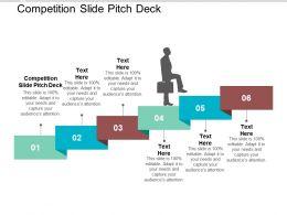 Competition Slide Pitch Deck Ppt Powerpoint Presentation Portfolio Shapes Cpb