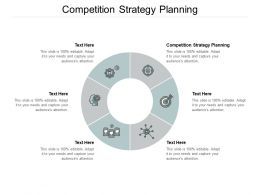Competition Strategy Planning Ppt Powerpoint Presentation Slides Graphics Design Cpb