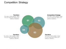 Competition Strategy Ppt Powerpoint Presentation Ideas Topics Cpb