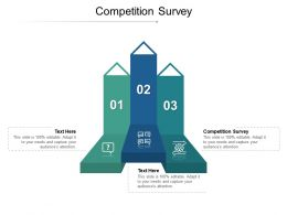 Competition Survey Ppt Powerpoint Presentation Infographics Graphics Design Cpb