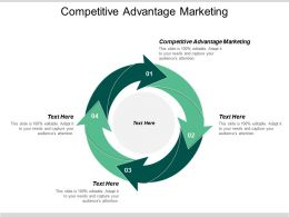 Competitive Advantage Marketing Ppt Powerpoint Presentation File Graphics Example Cpb