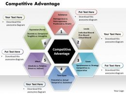 Competitive Advantage Powerpoint Presentation Slide Template