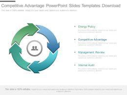 Competitive Advantage Powerpoint Slides Templates Download