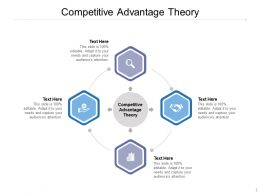 Competitive Advantage Theory Ppt Powerpoint Presentation Model Background Image Cpb