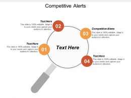 Competitive Alerts Ppt Powerpoint Presentation File Slides Cpb