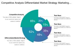 Competitive Analysis Differentiated Market Strategy Marketing Plan Development