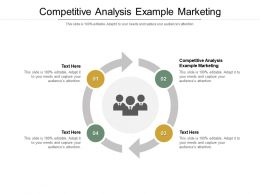 Competitive Analysis Example Marketing Ppt Powerpoint Presentation Show Guidelines Cpb