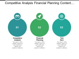 Competitive Analysis Financial Planning Content Management System Money Management Cpb