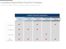 76204610 Style Essentials 2 Compare 5 Piece Powerpoint Presentation Diagram Infographic Slide