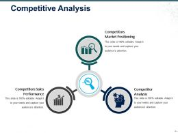 Competitive Analysis Ppt Samples