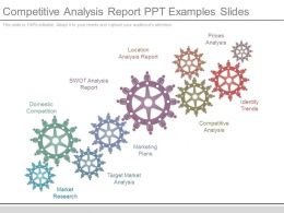 Competitive Analysis Report Ppt Examples Slides