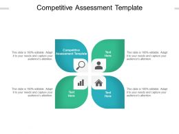 Competitive Assessment Template Ppt Powerpoint Presentation Professional Template Cpb